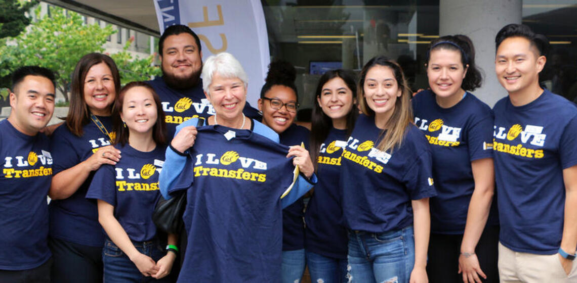 Chancellor Carol Christ and Staff